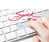 Signed with FP Sign Keyboard with padding