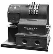 Early model postage meter