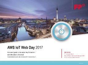 AWS IoT Webday Presentation