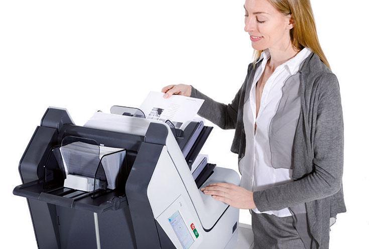 Briefe Falzen Und Kuvertieren : Kuvertiermaschine fpi kuvertiersystem von fp