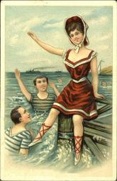 Example of Golden Age of postcards