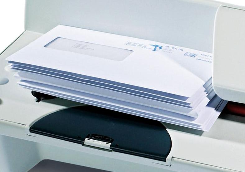 Briefe Falzen Und Kuvertieren Maschine : Brieföffner access b mit neuartigem schlitzverfahren