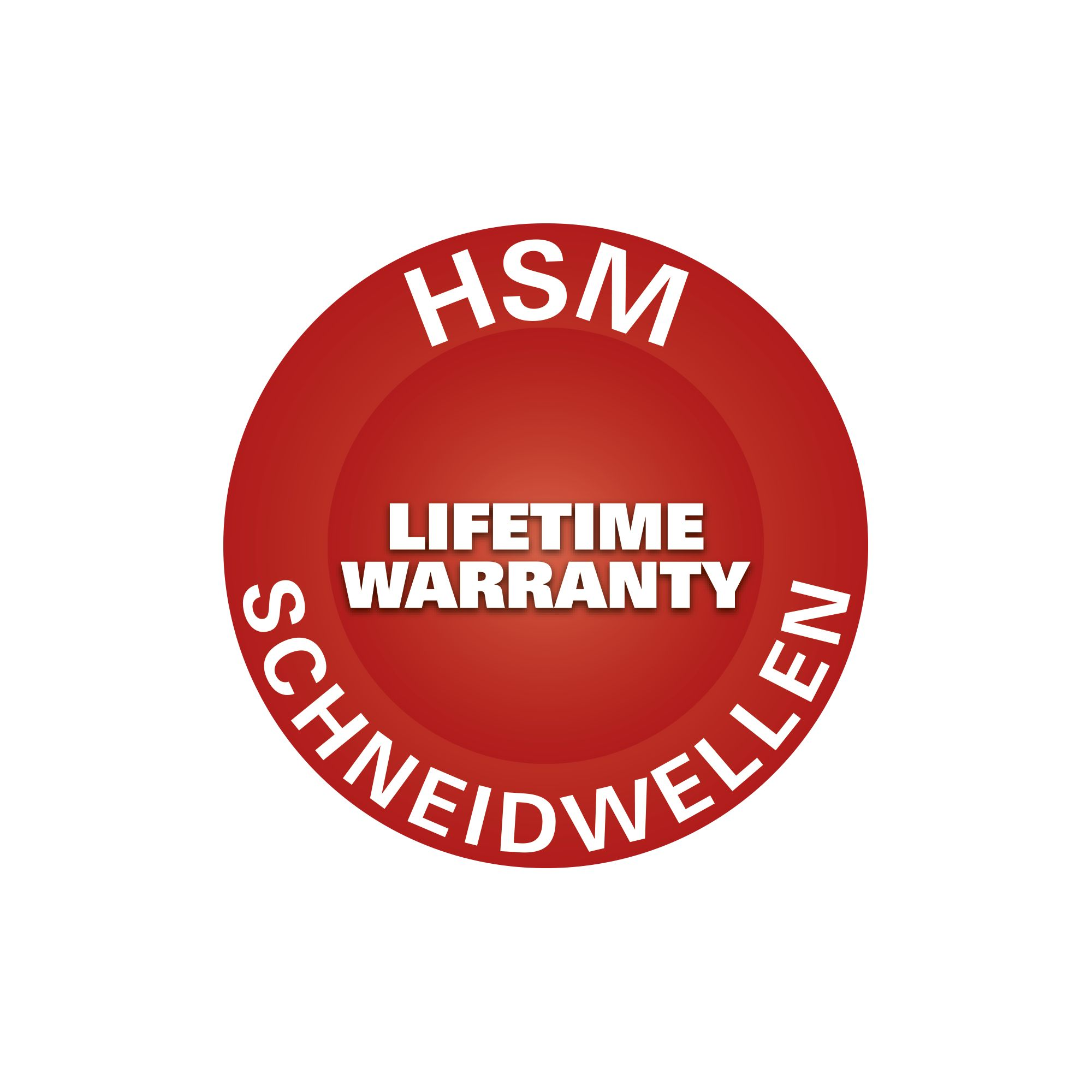 De hsm button lifetime warranty
