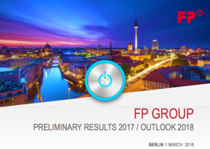 Preliminary financial statements 2017 fp group