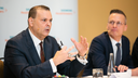 David Pacitti, President Americas, Christoph Zindel, Member of the Managing Board (From left to right)