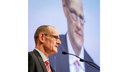Dr. Bernd Montag, CEO Siemens Healthineers, at the company's Annual General Meeting.