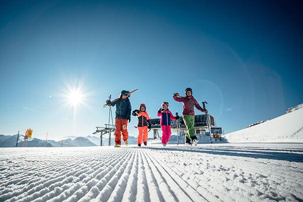 Skiregion Nassfeld in Kärnten, Österreich
