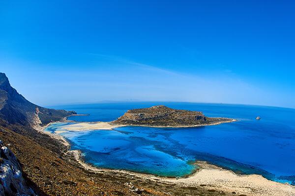 Strand auf Kreta, Griechenland