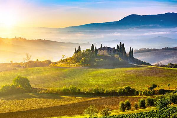 Italien, Landschaft in der Toskana
