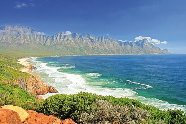 Mossel Bay an der Garden Route in Südafrika