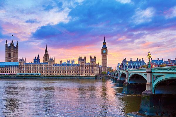 London, Big Ben und Houses of Parliament