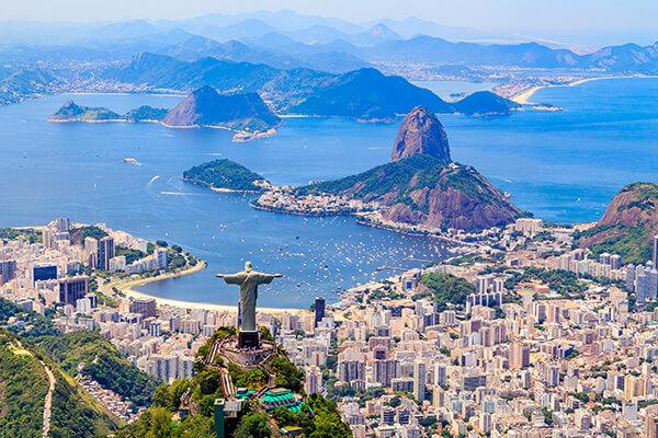 Stadtansicht Rio de Janeiro