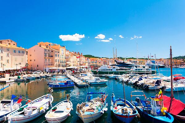 Saint Tropez Yachthafen