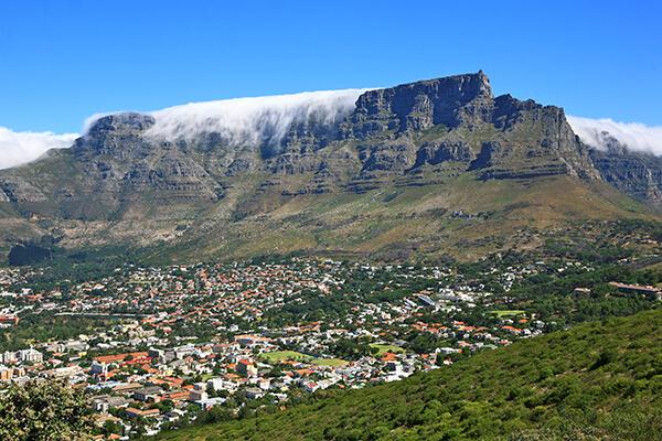 Der Tafelberg in Kapstadt, Südafrika