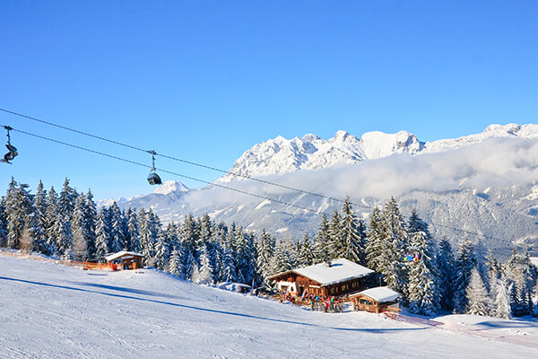 Schladming in der Steiermark im Winter