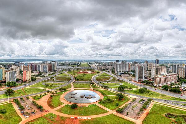 Brasilia Stadt