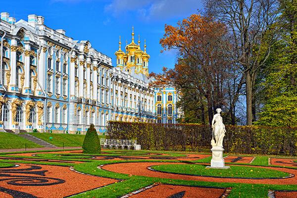 Katharinenpalast in Puschkin, Russland