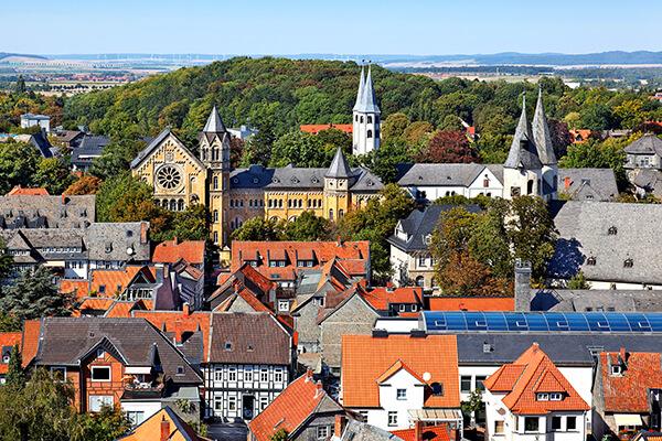 Stadtansicht Goslar im Harz