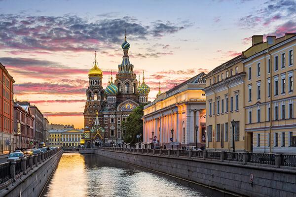Kathedrale des Jesus Christus auf Blut in St. Petersburg, Russland