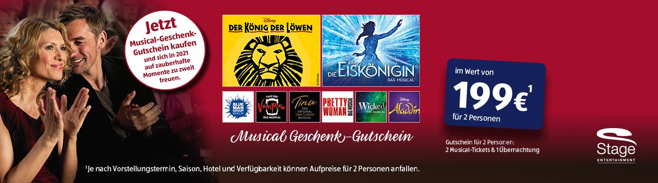 ALDI, Stage, Gutscheinaktion, Musical, Banner, Startseite