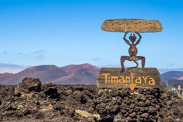 Timanfaya Nationalpark, Lanzarote