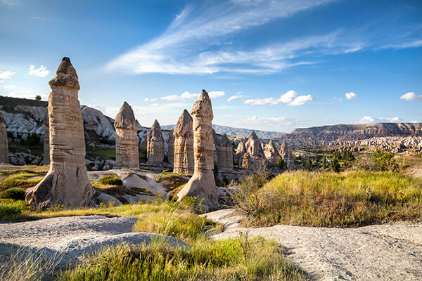 Türkei, Feenkamine in Kappadokien
