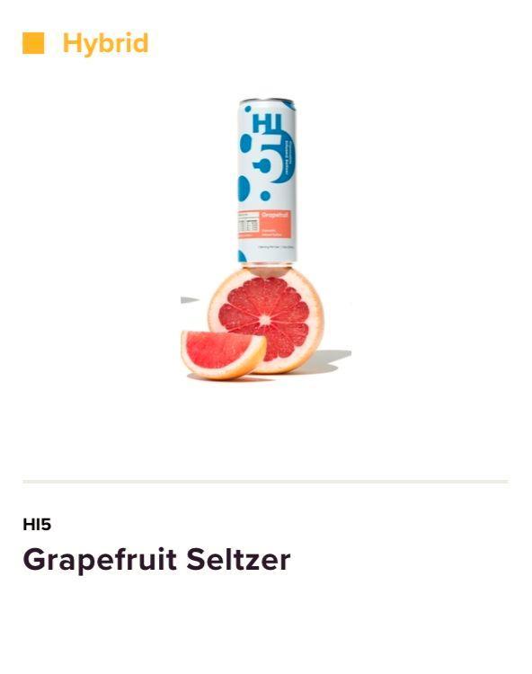 Grapefruit Seltzer Hi5