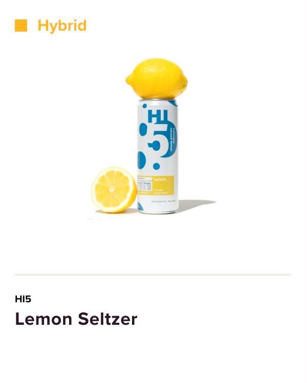 Lemon Seltzer Hi5