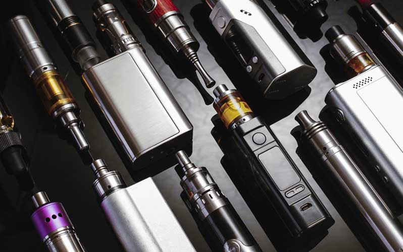 Vape pens of all shapes and sizes