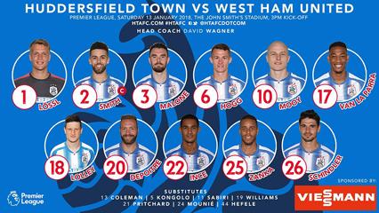 Huddersfield FC Team