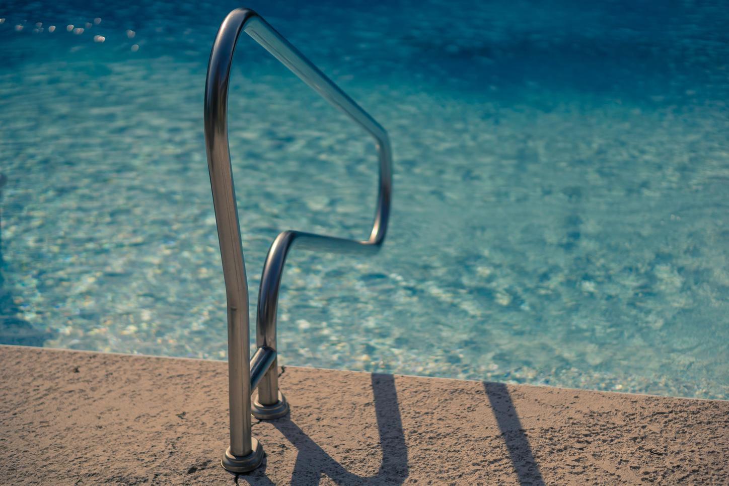 active cooling to heat a swimming pool