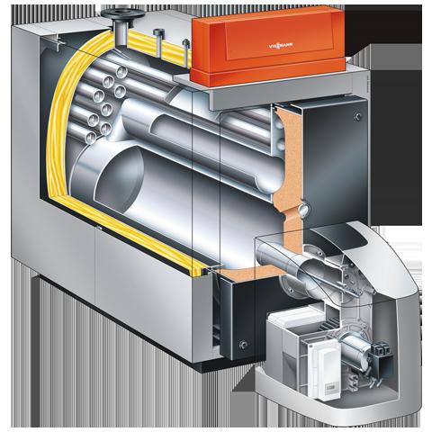 Product Section - Vitoplex 200 low temperature oil/gas boiler