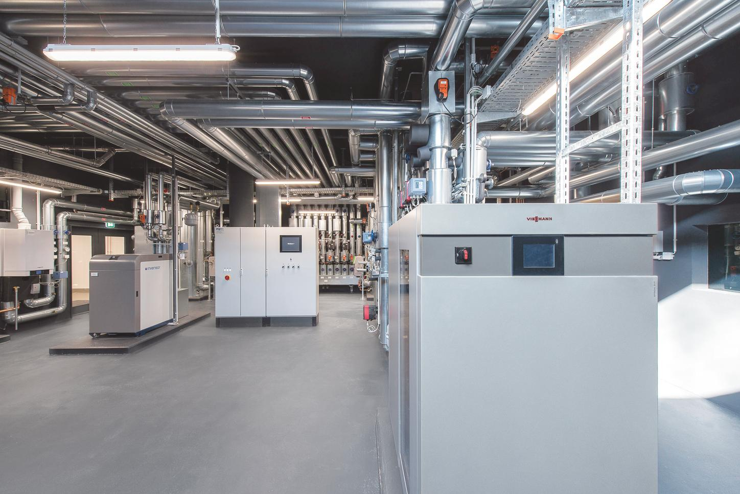 Vitocal 300-G Pro plant room