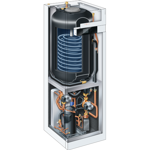 Product section - Vitocal 222-G brine/water heatpump