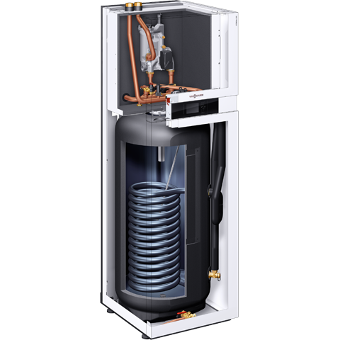 Product section Vitocal 222-A air-water heat pump