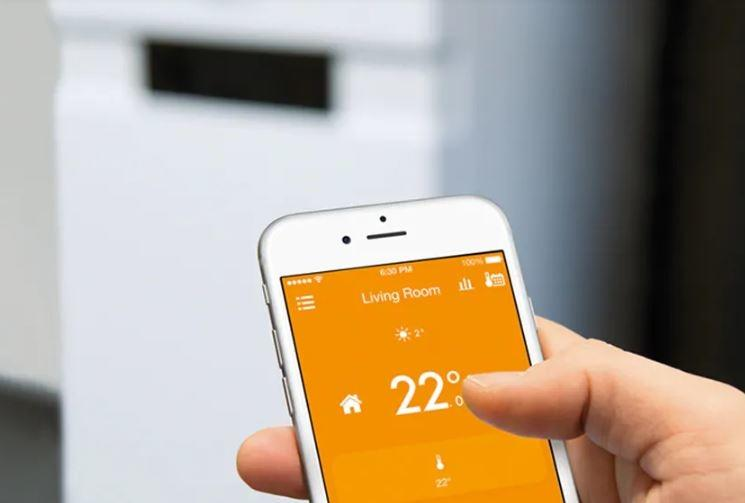 Tado, remote, smart heating.