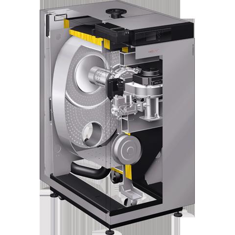Vitocrossal 100 gas condensing boiler
