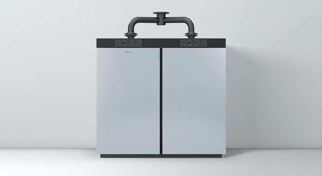 Vitocrossal-100 double boiler unit