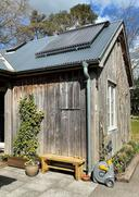 Solar Thermal on wooden house