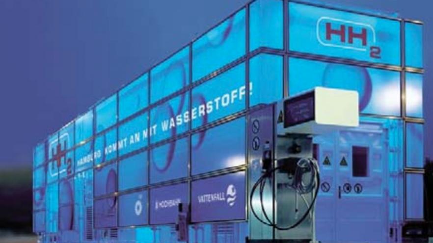 Hydrogen filling station, Hamburg