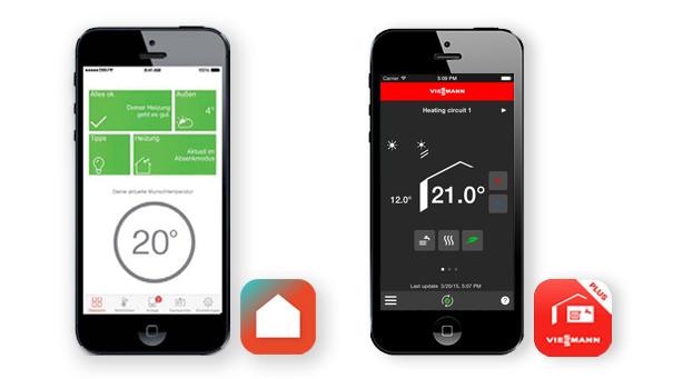 Vicare App - Vitotrol Plus App