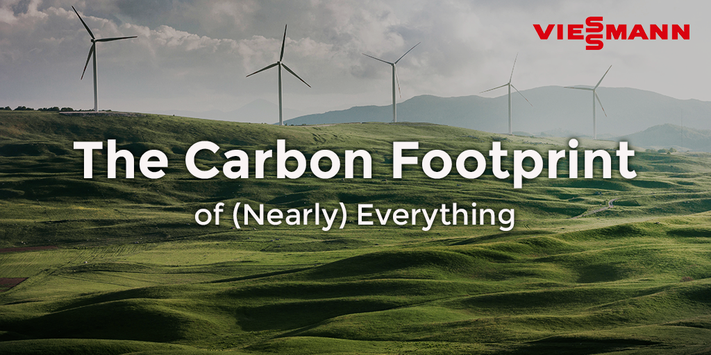 the carbon footprint of (nearly) everything