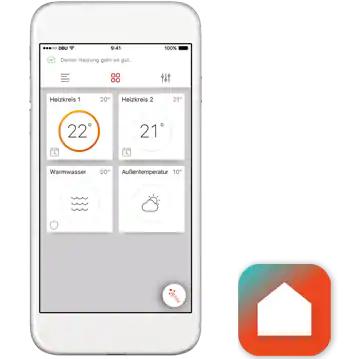 ViCare mobile app