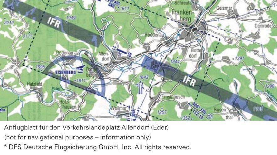 Approach sheet for Allendorf Eder
