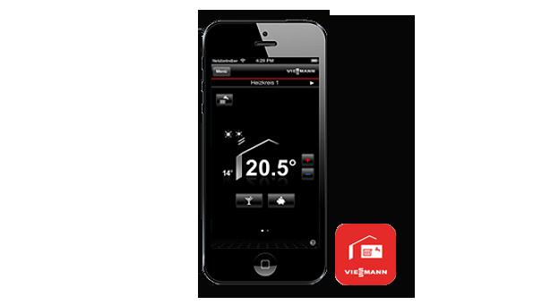 Apps vitotrol for Viessmann vitoconnect