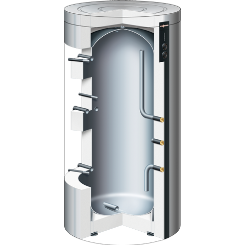 Product section - Vitocell 100-E heating water buffer tank
