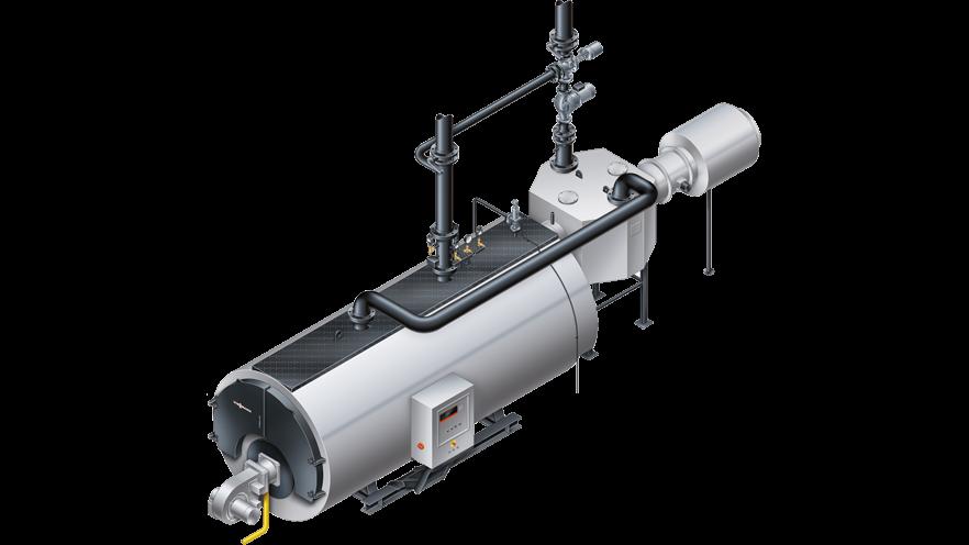 Hot water boiler system technology