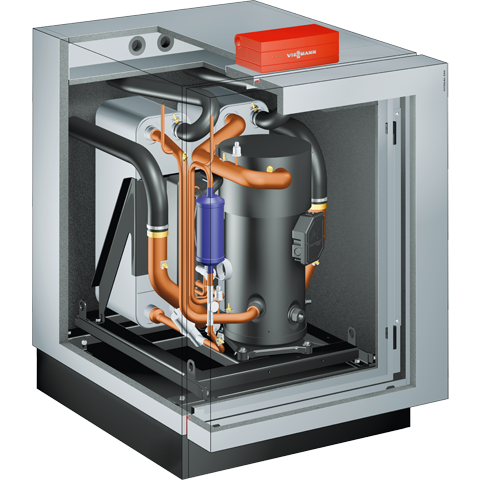 Product section - Vitocal 350-G brine / water heat pump