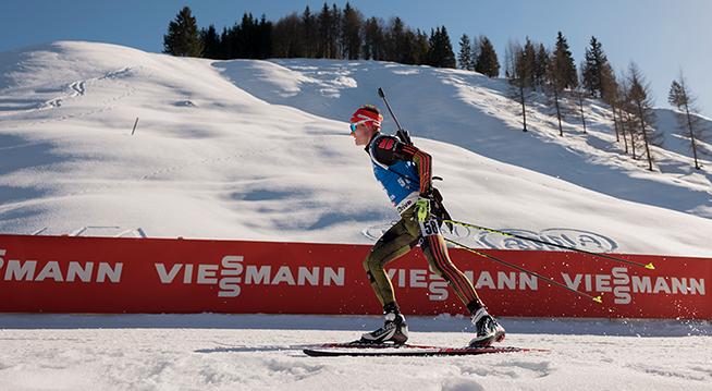 Wintersport Biathlon