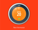 the Nest learning smart thermostat by Google